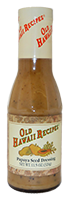 OHR Papaya Seed Dressing 12 oz